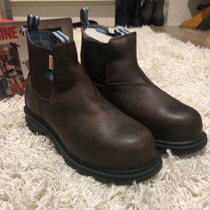 COPY - NWT Ladies Wolverine Steel Toe Boots